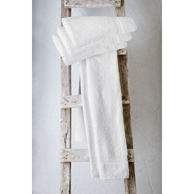 Turkish Cotton Bath Towel Color: White