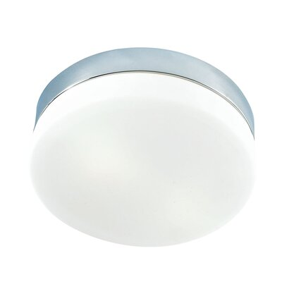Leyden 2-Light Flush Mount Finish: Chrome