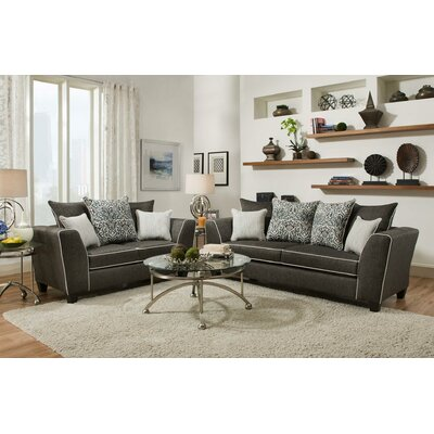 Clouser 2 Piece Living Room Set