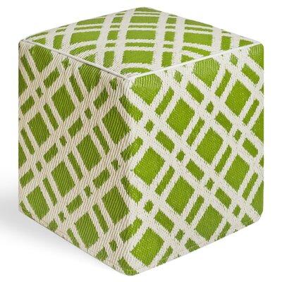 Nahant Ottoman Upholstery: Green