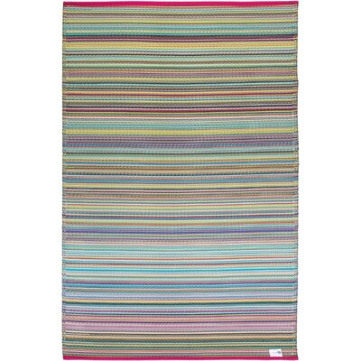 Nahant Pink Indoor/Outdoor Area Rug Rug Size: 6 x 9