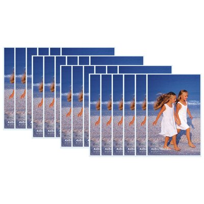24 Piece Acrylic Picture Frame Size: 4