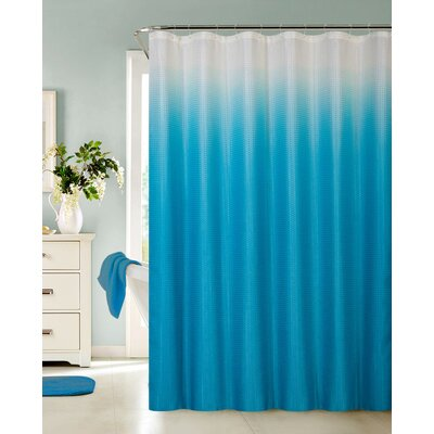 Kobayashi Spa Bath Shower Curtain Color: Turquoise