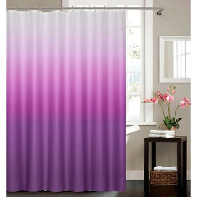Kobayashi Spa Bath Shower Curtain Color: Purple