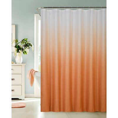 Petersham Spa Bath Shower Curtain Color: Orange