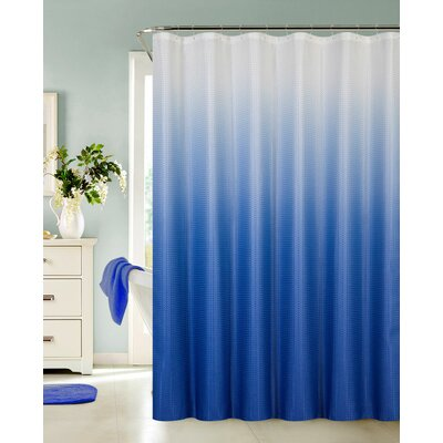 Kobayashi Spa Bath Shower Curtain Color: Blue