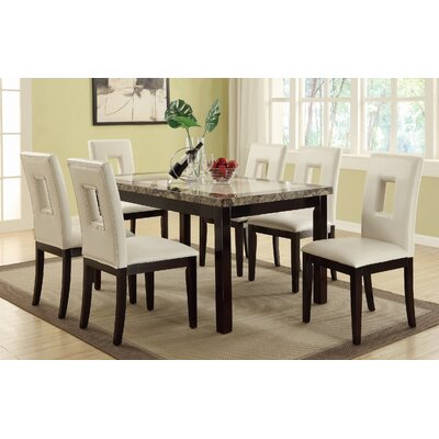 Phillipston 7 Piece Dining Set Finish: Beige