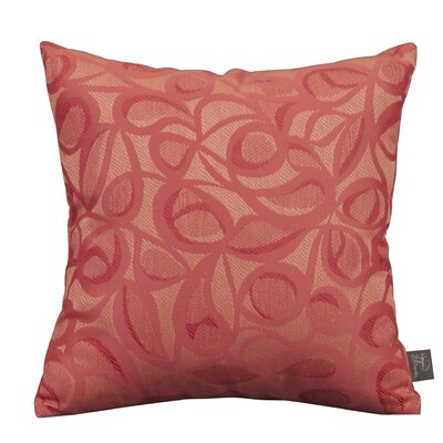 Isaac Indoor/Outdoor Throw Pillow Color: Paprika
