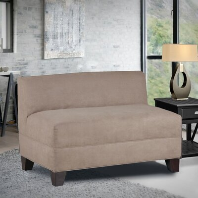 Woodhouse Armless Loveseat Upholstery: Montana Mocha