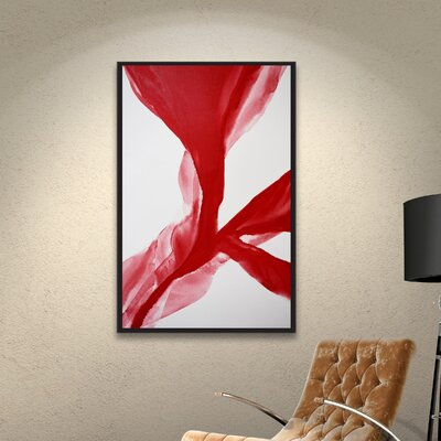 The Cleaving Framed Painting Print Size: 32