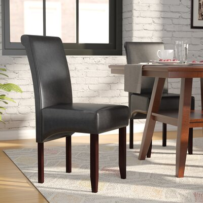 Darrell Parsons Chair Upholstery: Black