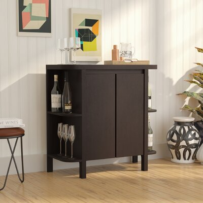 Oliver Bar Cabinet with Wine Storage