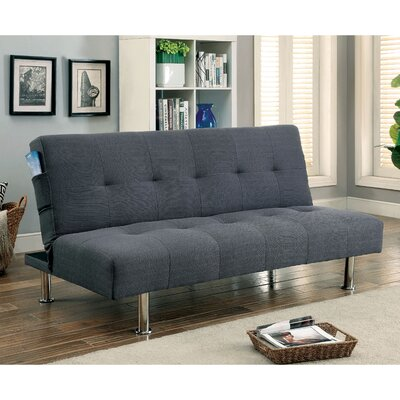 Mcpherson Convertible Sofa Upholstery: Gray