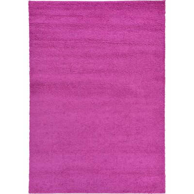 Bixler Magenta Area Rug Rug Size: Rectangle 7 x 10