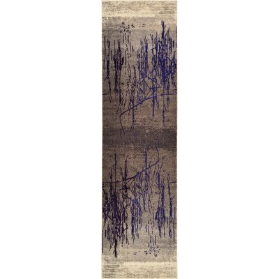 Oldsmar Brown Area Rug Rug Size: Runner 27 x 10