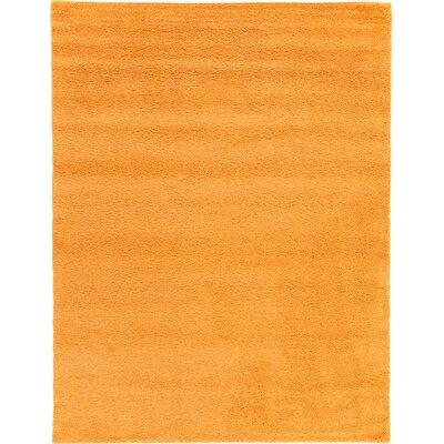 Maxine Orange Area Rug Rug Size: 9 x 12