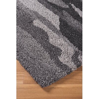 Driftwood Hand woven Black/Gray Area Rug Rug Size: 8 x 10