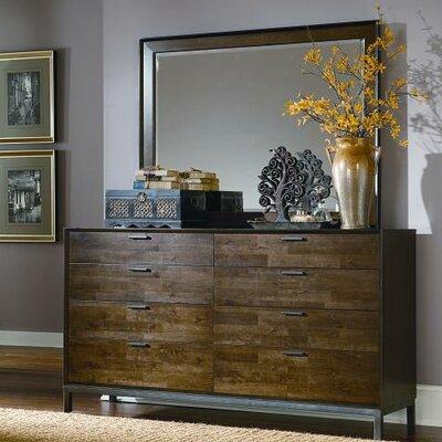 Kolton 8 Drawer Dresser with Mirror