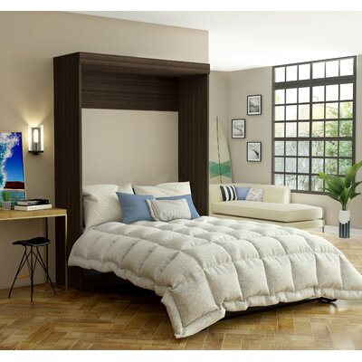 Beecroft Murphy Bed Size: Full, Headboard Color: Dark Chocolate