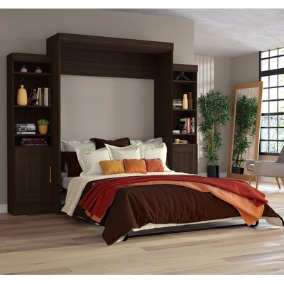 Beecroft Murphy Bed Upholstery: Queen, Upholstery Color: Dark Chocolate