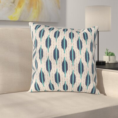 Reiff Pillow Cover Size: 22 H x 22 W x 1 D, Color: Blue / Teal