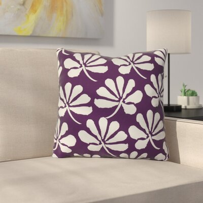 Allen Park Outdoor Throw Pillow Size: 16 H x 16 W x 3 D, Color: Purple