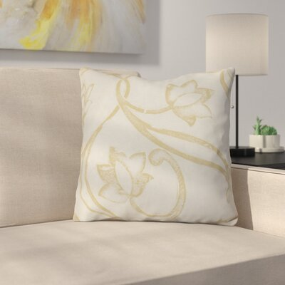 Allen Park Throw Pillow Size: 26 H x 26 W x 3 D, Color: Taupe
