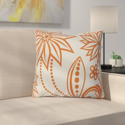 Allen Park Throw Pillow Size: 16 H x 16 W x 3 D, Color: Orange
