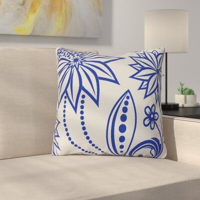 Allen Park Throw Pillow Size: 26 H x 26 W x 3 D, Color: Blue