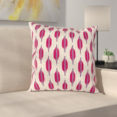 Reiff Pillow Cover Size: 20 H x 20 W x 1 D, Color: Purple / Pink