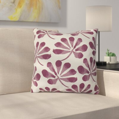 Allen Park Throw Pillow Size: 26 H x 26 W x 3 D, Color: Purple