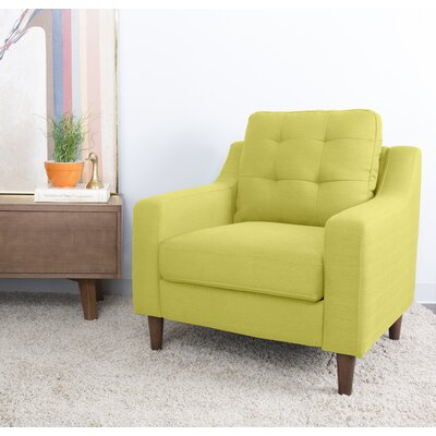 Bacote Armchair Upholstery: Vintage Green