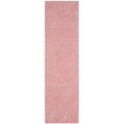 Winnett Hand-Tufted Pink Area Rug Rug Size: Runner 23 x 8