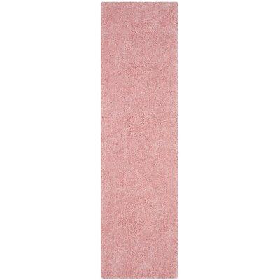 Winnett Hand-Tufted Pink Area Rug Rug Size: Runner 23 x 8