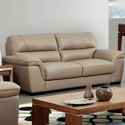 Alivia Leather Sofa