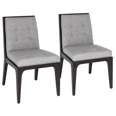 Peyton Side Chair Upholstery: Gray