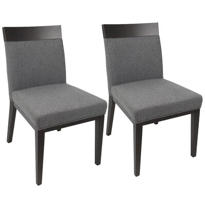 Phoebe Side Chair Upholstery: Gray