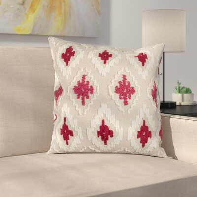 Eliana Pillow Cover Color: Red