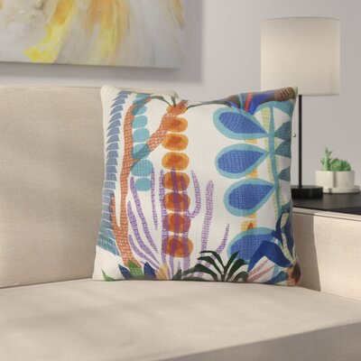 Braylen Throw Pillow Size: 16 H x 16 W x 3 D, Color: Light Blue
