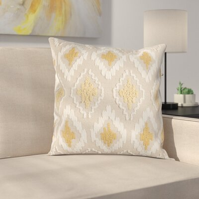 Eliana Pillow Cover Color: Yellow