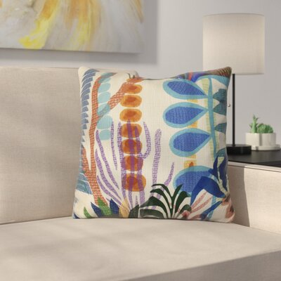 Braylen Throw Pillow Size: 18 H x 18 W x 3 D, Color: Gold