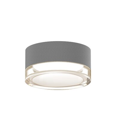 Algarin 1-Light LED�Flush Mount Finish: Gray