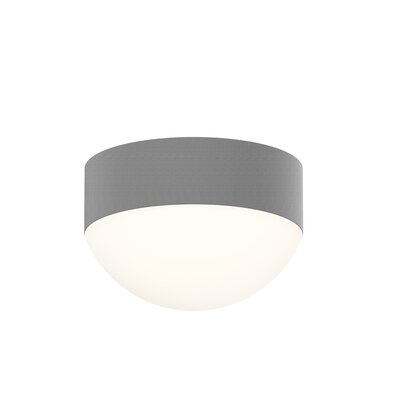 Algarin 1-Light LED Flush Mount Finish: Gray