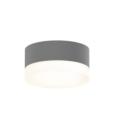 Algarin 1-Light LED�Flush Mount Finish: Gray