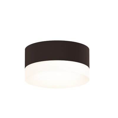 Algarin 1-Light LED�Flush Mount Finish: Bronze