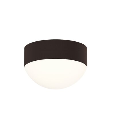 Algarin 1-Light LED Flush Mount Finish: Bronze