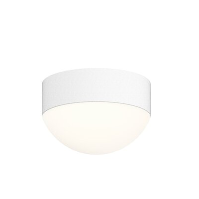 Algarin 1-Light LED Flush Mount Finish: White