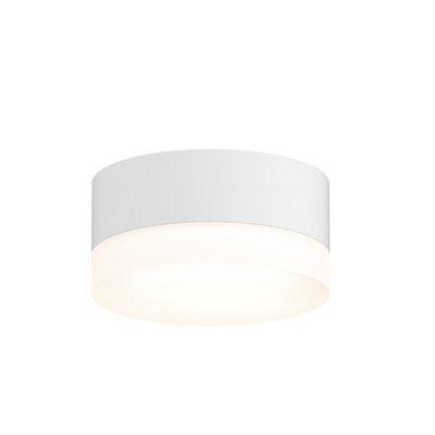 Algarin 1-Light LED�Flush Mount Finish: White