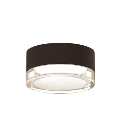Algarin 1-Light LED�Flush Mount Finish: Bronze