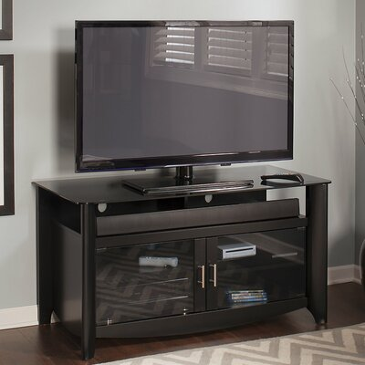Wentworth 46 TV Stand Color: Classic Black